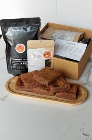 Brownie Çikolata18 Dilim + Filtre Kahve