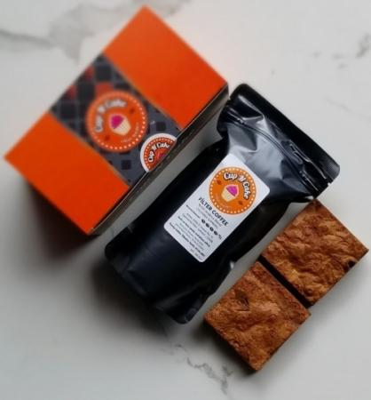 Brownie Trio 2 Dilim + Çekirdek Kahve