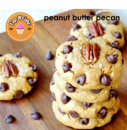 Peanut Butter Pecan Cookie - Fıstık Ezmeli
