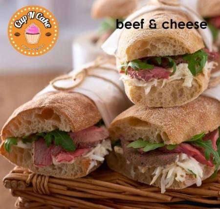 Beef & Cheese Ciabatta - Dana Jambon Peynir