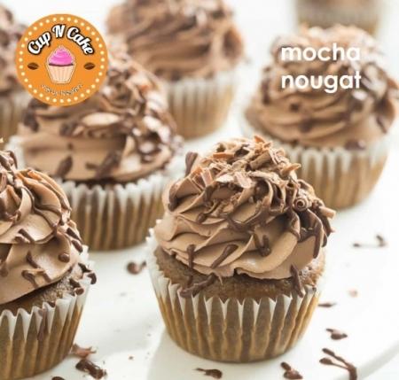 Mocha Nougat Cupcake - Moka Nugalı