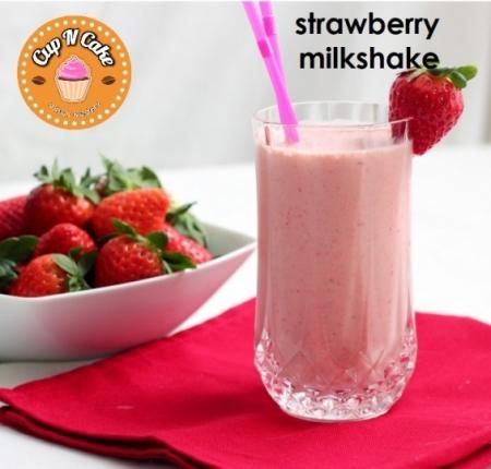 Strawberry Milkshake - Çilekli