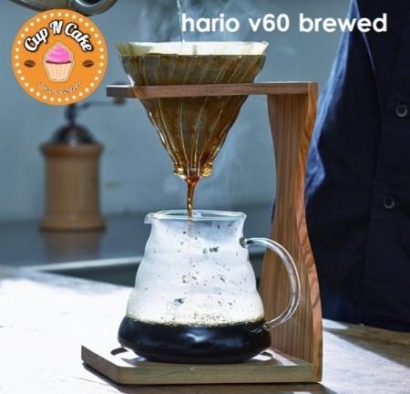 Hario V60 Brewed