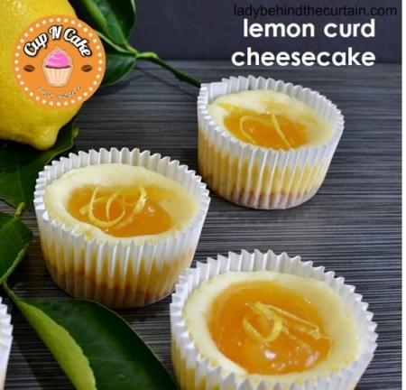 Lemon Curd Cheesecake Cupcake - Limon Kremalı