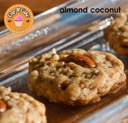 Coconut Almond Cookie - Hindistan Cevizli Bademli