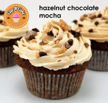 Hazelnut Chocolate Mocha Cupcake - Fındıklı Çikolatalı Moka
