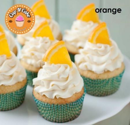 Orange Cupcake - Portakallı