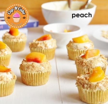 Peach Cupcake - Şeftalili