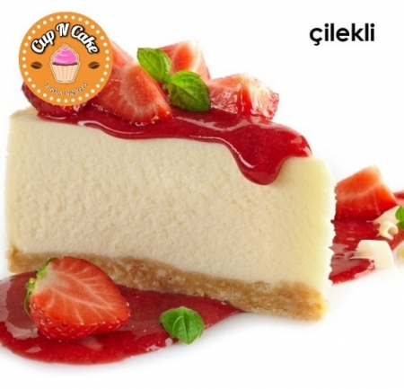 Çilekli Cheesecake - Strawberry