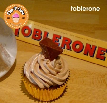 Toblerone Cupcake - Tobleronlu