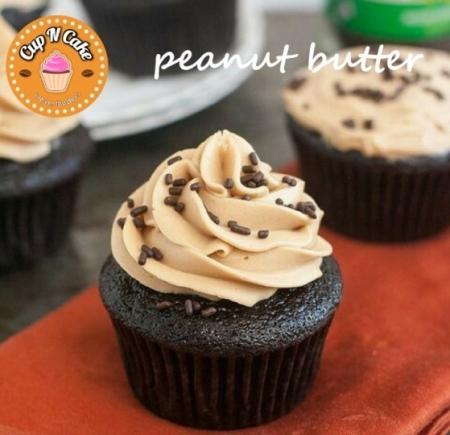 Peanut Butter Cupcake - Fıstık Ezmeli