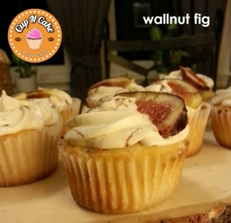Wallnut Fig Cupcake - Cevizli İncirli