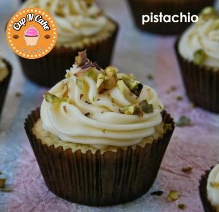 Pistachio Cupcake - Antep Fıstıklı