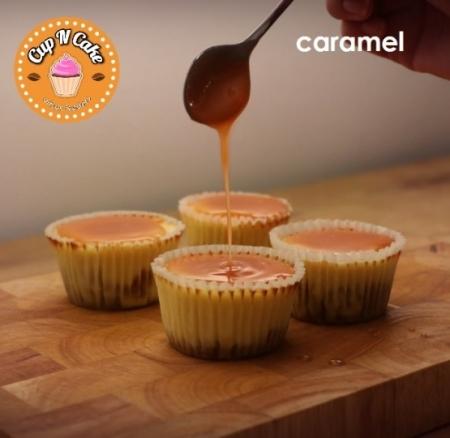 Baby Caramel Cheesecake Cupcake - Karamelli