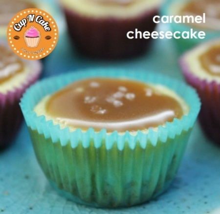 Caramel Cheesecake Cupcake - Karamelli