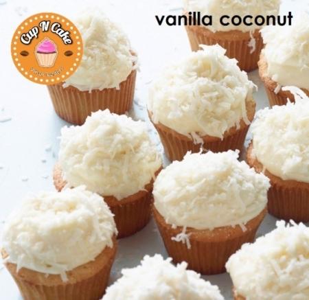 Vanilla Coconut Cupcake - Vanilya Hindistan Cevizli