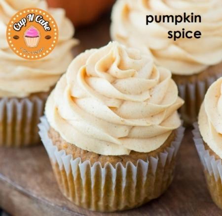 Pumpkin Spice Cupcake - Balkabaklı