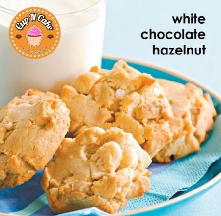 White Chocolate Hazelnut Cookie - Beyaz Çikolata Fındıklı