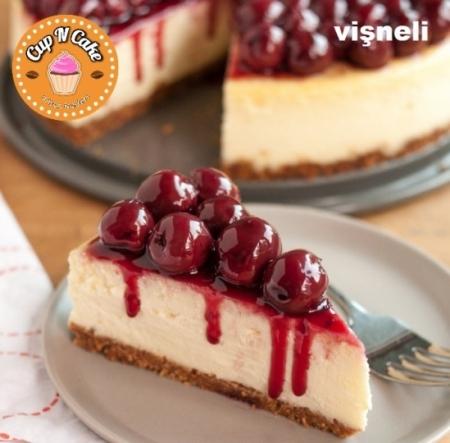Vişneli Cheesecake - Sour Cheery