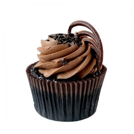 Bol Çikolatalı (Devils Food) Cupcake