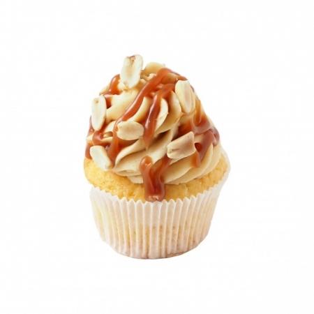 Fıstık Ezmeli Vanilya Cupcake