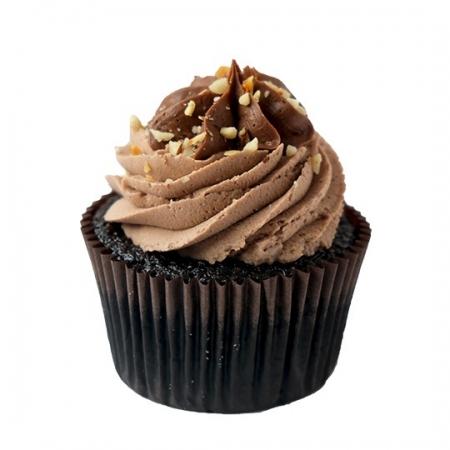 Nutella Çikolata Cupcake