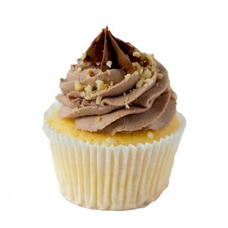 Nutella Vanilya Cupcake