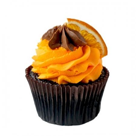Portakal Çikolata Cupcake