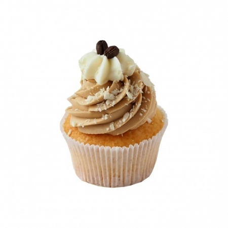 White Chocolate Mocha Cupcake