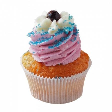Yaban Mersinli Cupcake